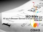 Seo bible - all you have ever wante...