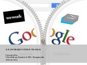Introduction to SEO Presentation