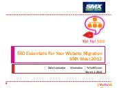 SEO Essentials for Migrating Websites