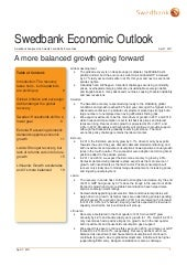 Swedbank Economic Outlook April 2011