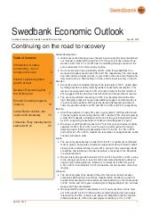 Swedbank Economic Outlook April 2012