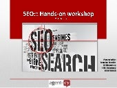 SEO Workshop Presentation