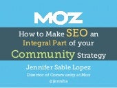 How to Make SEO an Integral Part of your Community Strategy