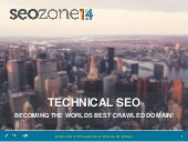 Technical SEO: Crawl Space Management - SEOZone Istanbul 2014