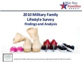 2010 Military Family Lifestyle Surv...