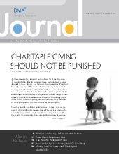 September 2009 Journal Of The Dma N...
