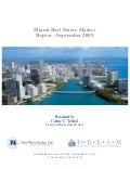 Miami Real Estate - September 2009 Report