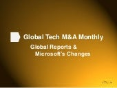 Tech M&A Monthly - Global Reports +...
