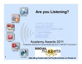 Social Nuggets Academy awards Predi...