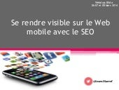 Se rendre visible sur le web mobile...