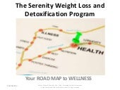 ROADMAP: Serenity's 3 Phases to  Wellness