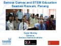 Serious Games And Stem Education