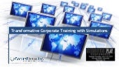 Transformative Corporate Training with Simulations