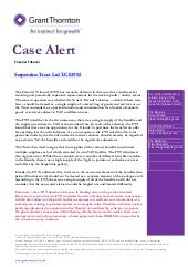 Case Alert: Serpentine Trust Ltd TC 03992