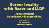 Server Locality Using Razor and LLDP - PuppetConf 2014