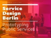 Service Design Berlin / Prototyping Public Services at Gov Jam Berlin 2015