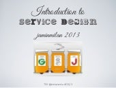 Introduction on Service Design