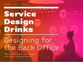 Designing for the Back Office – Service Design Drinks Berlin