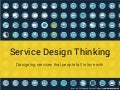 Service Design Thinking - Designing services that people fall in love with