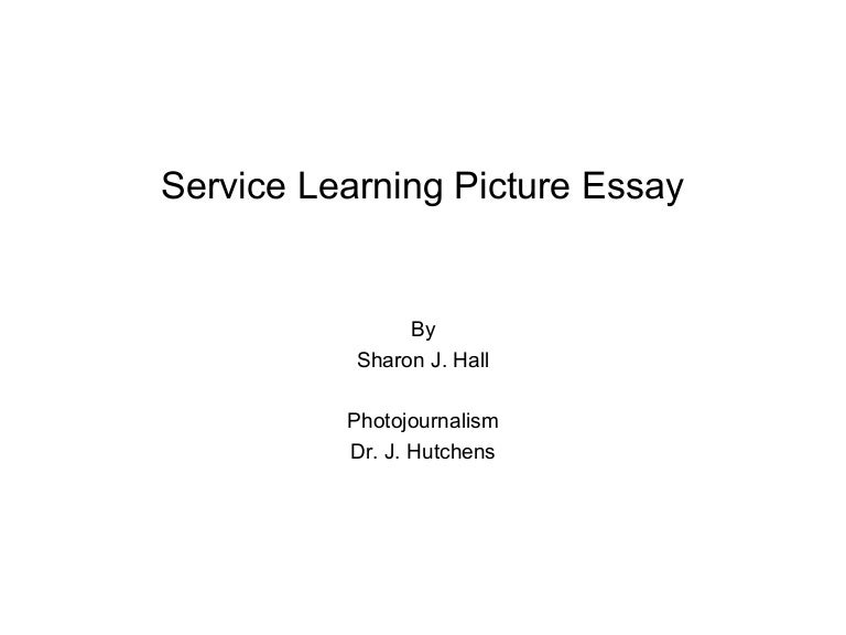 Essay service learning