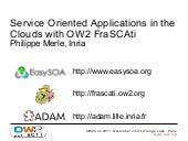 Service Oriented Applications in th...