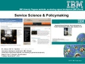 Service science and policymaking 20...