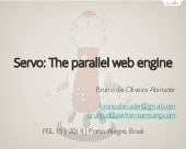Servo: The parallel web engine