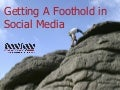 Getting A Foothold In Social Media: SES Chicago 2008