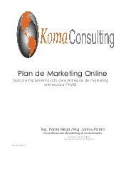 Manual sobre Plan marketing Online ...