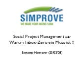 "Session ""Social Project Management""..."