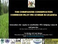 The chimpanzee conservation corridor pilot PES scheme in Uganda