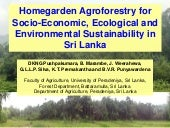 Session 2.2 homegarden agroforestry...