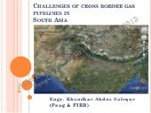 Challenges of cross border gas pipe...
