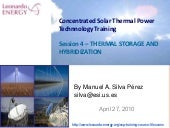 Concentrated Solar Power Course - S...