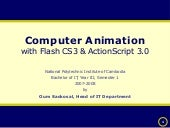 Actionscript 3 - Session 4 Core Con...