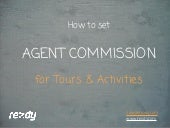 How to Set Agent Commission for Tours & Activities