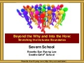 Severn School MS US Inclusive Classroom Practices