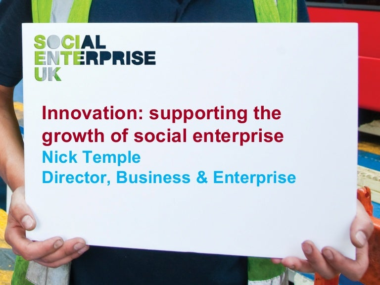 Innovation and Social Enterprise