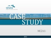 Sewea case study 2011 final