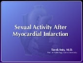 Sexual activity after myocardial in...