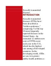 Sexually Transmitted Diseases ...