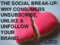 The Social Break Up - Suscribers, Fans, & Followers