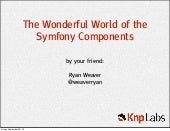 The Wonderful World of Symfony Comp...