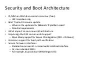 SFO15-101: Security requirements on ARMv8-A boot architecture