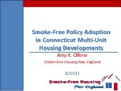 Smoke-Free Policy Adoption in Conne...