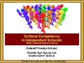 SFS Cultural Competency Leadership