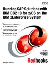Running SAP Solutions with IBM DB2 ...