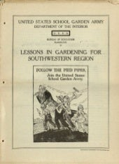Lessons in School Gardening for the...