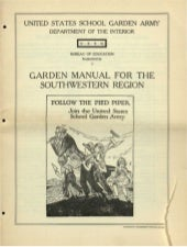 School Garden Manual for the SouthWest