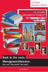 10. St. Galler Management-Kongress ...